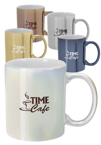 12 oz Iridescent Ceramic Mugs | X20297