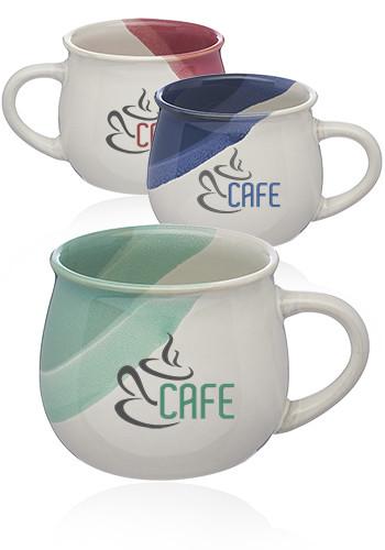 12 oz. Nova Drip Glazed Ceramic Mugs   CM1020