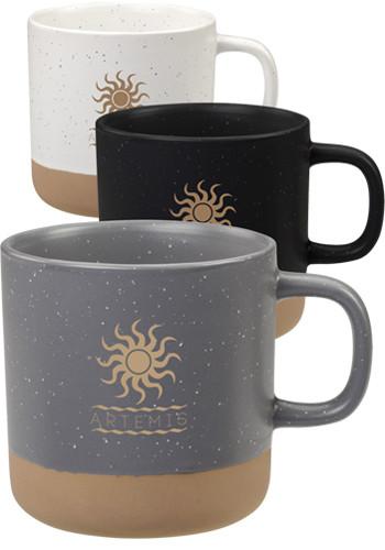 Customized 12 Oz Santos Ceramic Mugs
