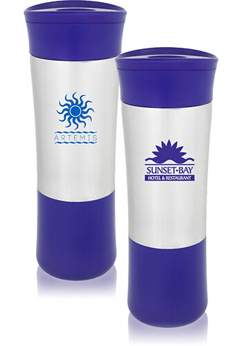 Button to Release Travel Mugs