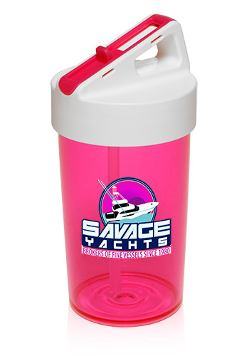 13 oz.  Kids Straw Water Bottles  with     PG173