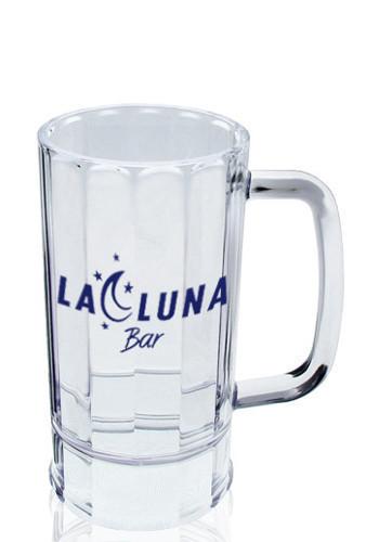 Acrylic Plastic Logo Beer Mugs