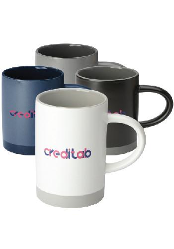 15oz Lotus Two Tone Ceramic Mugs | LE162651