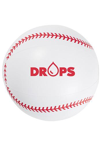 16 Inch Baseball Beach Balls   X20171