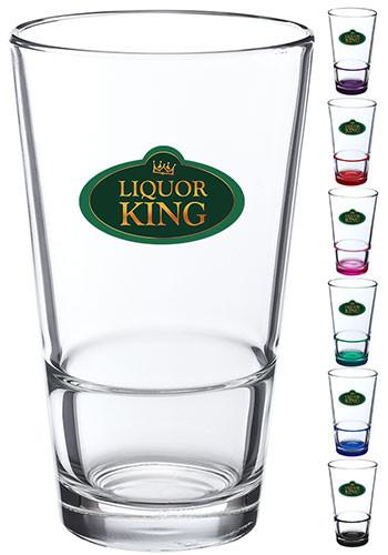 Custom 16 oz. ARC Stackable Pint Glasses