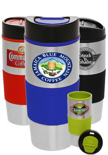 Color Grip Double Wall Tumblers