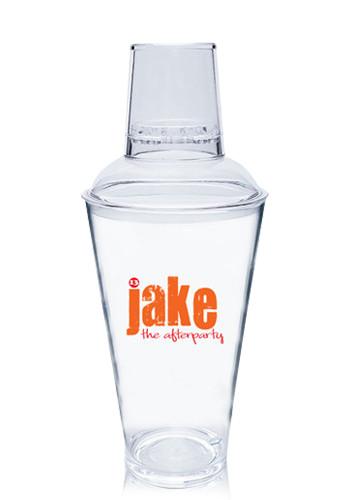 Customized 16 oz. Plastic Pub Shakers