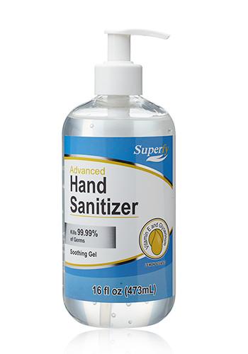 16 oz Pump Top Hand Sanitizers | HS007
