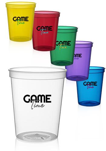 Translucent Plastic Stadium Cups