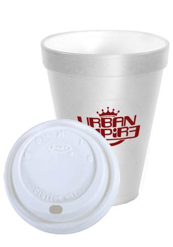 Bulk 16 oz. White Styrofoam Cups