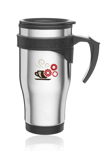 #ST19 16oz Sporty Stainless Steel Travel Mugs