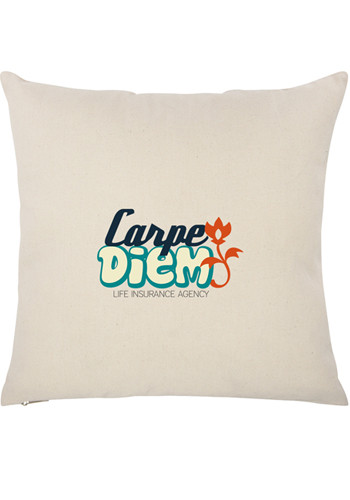 Promotional 16W x16H in. Cotton Canvas Pillow Cases