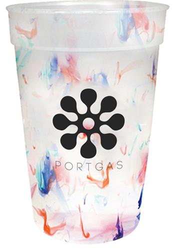 Rainbow Confetti Mood Cups