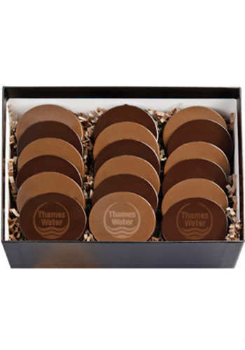 Wholesale 18 Round Cookies in  Cookie Gift Boxes