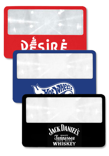 Personalized Wallet Magnifiers w/ Case