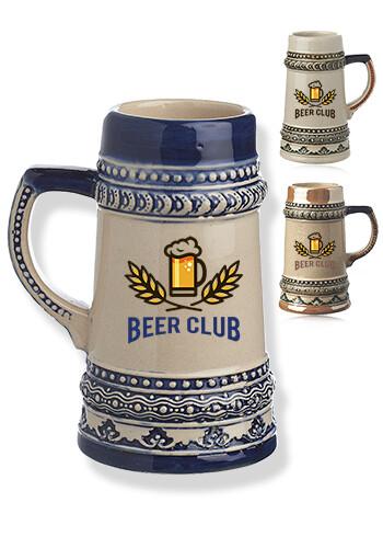 Mini Ceramic Beer Mug Shooters