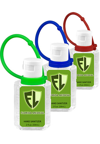 2 oz Hand Sanitizers Antibacterial Gel | IV1912