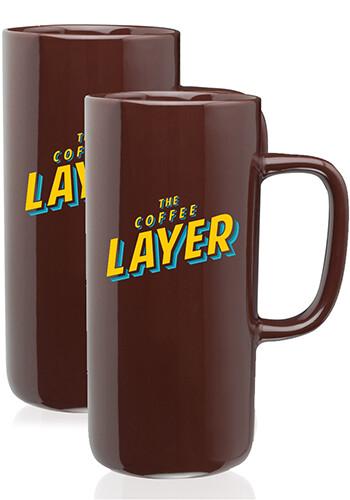 Tall Ceramic Mugs