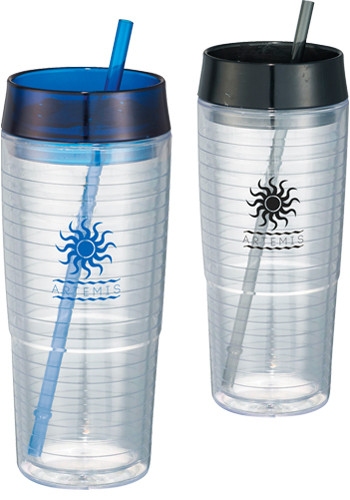 Customized 20 oz. Hot & Cold Swirl Double-Wall Tumblers
