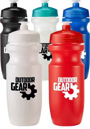 20 oz. Plastic Leak Resistant Water Bottles  | EM4200