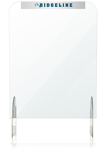 Customized 24 In x 32 In Protective Acrylic Counter Barriers