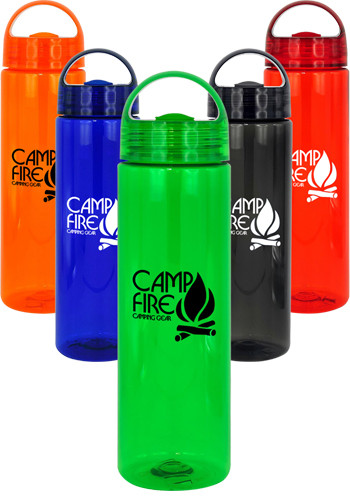 Personalized 24 oz. Arch Colorful Bottles