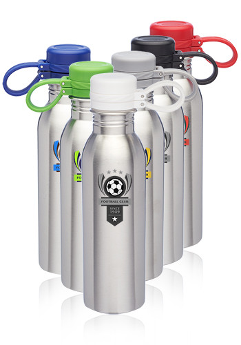24 oz. Color Pop Stainless Steel Water Bottles | WB338