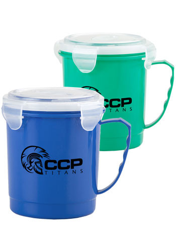 Promotional 24 oz. Food Container Mugs
