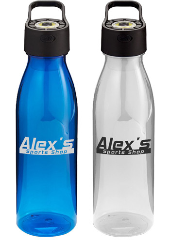 24 oz. Water Bottles with Rechargeable Cob Light