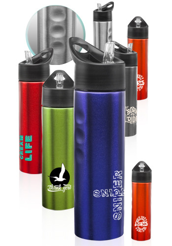 Slim Stainless Steel Water Bottles