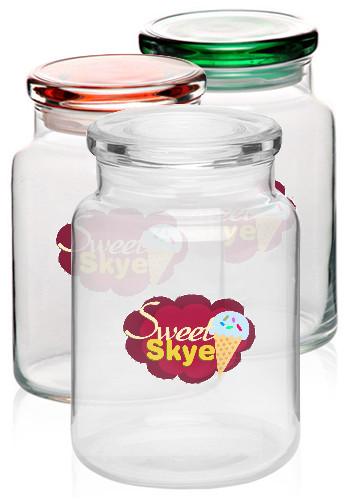 Custom 26 oz. ARC Flat Lid Colonial Candy Jars