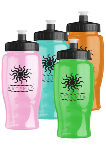 27 oz. Poly-Pure Transparent Bottles | GRTB27