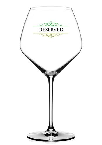 Crystal Pinot Noir Wine Glasses