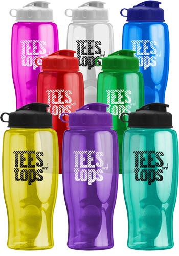 27 oz. Transparent Bottles with Flip Lid | GRTB27F