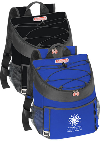 Custom 28-Can Coleman Backpack Coolers