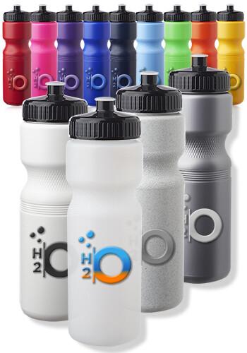 Push Cap Plastic Water Bottles