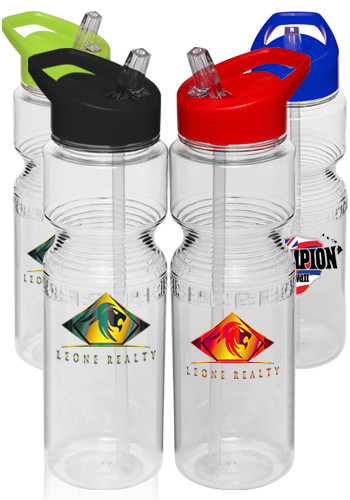 Sports Bottles with Straws