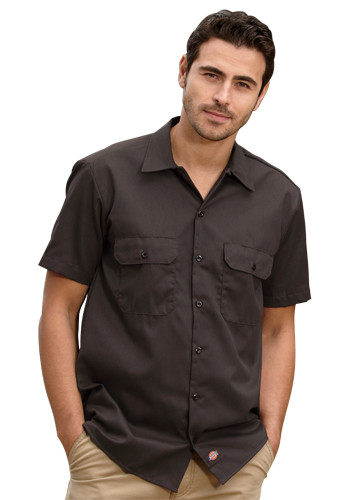 Dickies Men's Short-Sleeve Work Shirts   1574