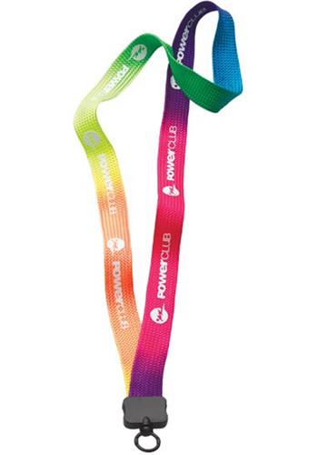 Tie Dye Multicolor Lanyards