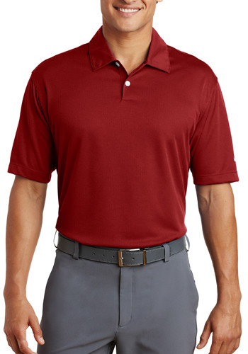 Nike Dri-FIT Pebble Texture Golf Polo Shirts | 373749