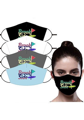 Promotional 3-Layer Face Mask with Filter Pocket