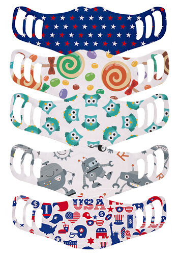 3-Layer Kids Pre-designed Face Mask   WEMBKIDS