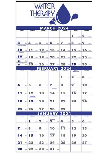 Custom 3-Month Planner 4 Sheet Triumph Calendars