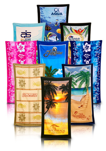 Terry Beach Theme Towels | TCIK110