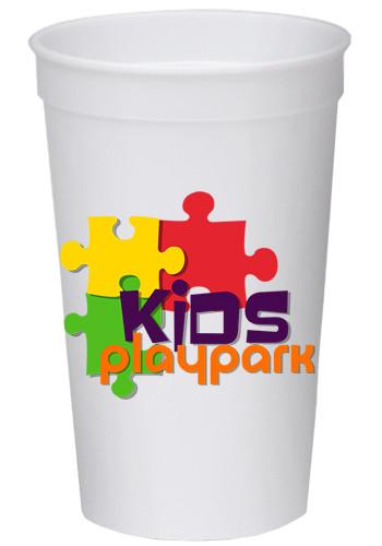 Custom 32 oz Full Color Wrap Stadium Cups
