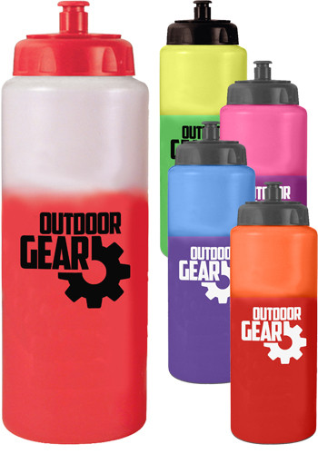 32 oz. Mood Sports Bottles with Push n Pull Cap | AK67551