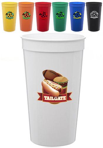 Plastic Stadium Cups