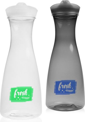 Promotional 34 oz. Clear Plastic Carafes with Lid