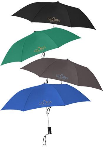 Promotional 36-in. Telescopic Automatic Folding Umbrellas