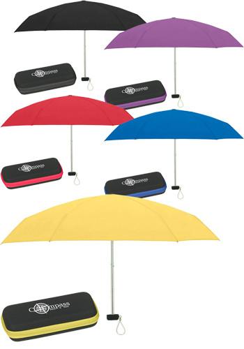 37-in. Travel Umbrellas With Eva Cases   X10024